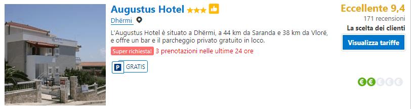 Hotel a Dhermi, Albania