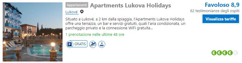 Hotel a Luova, Albania